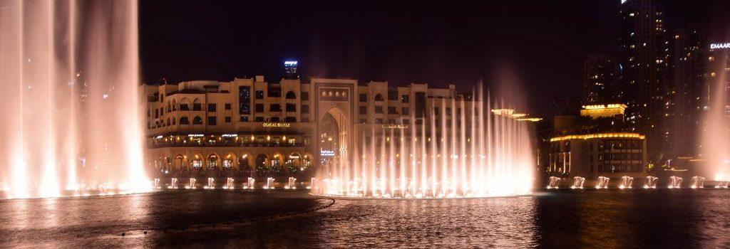 Tańczące fontanny Dubaju